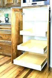 custom pull out kitchen shelves elegant sliding cabinet home decorating ideas down depot