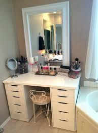 Vanity Desk Without Mirror Makeup Vanity Set Bedroom Vanity Sets ...