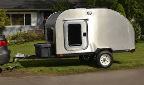 Diy travel trailer Micro Teardrop Trailer Complete Compact Camping Concepts How To Build Teardrop Trailer Harbor Freight Tools Blog