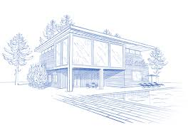 architecture building drawing. Drawing Architecture #100337780 Building