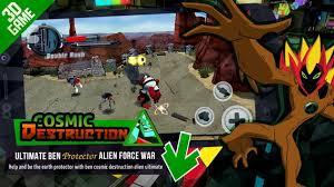 ultimate ben cosmic destruction alien
