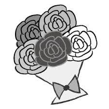 画像 1823 花のかわいい無料イラスト集白黒カラー Web素材