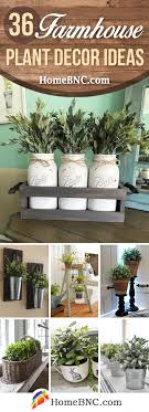 When designing a small wall hung furniture will increase the amount of visible floor in your bathroom, which gives the illusion of extra space. 36 Best Farmhouse Plant Decor Ideas And Designs For 2021