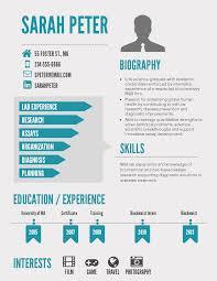 Infographic Resume Template Word Free Download Online Best Builder