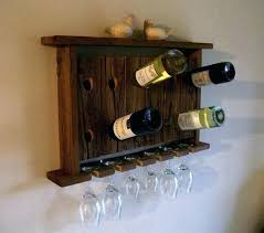 wine rack and glass holder wall mount wine rack with glass holder image of wall wine wine rack and glass