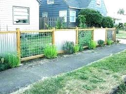 wood framed corrugated metal fence plans pictures of sheet fences steel with and panels corrugated metal fence