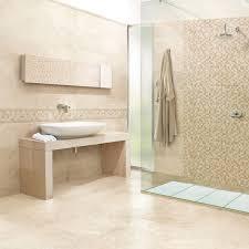 Travertine Bathroom Extraordinary Travertine Tile Bathroom Countertops Photo Ideas