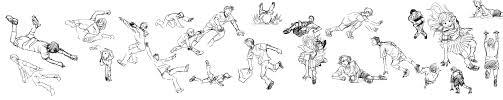 60のポーズでお題 ページ 7 絵の練習帳