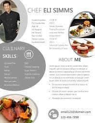 curriculum vitae head chef service resume curriculum vitae head chef esempio di curriculum vitae in inglese modello curriculum chef cv format
