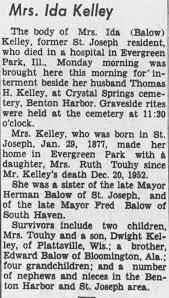 Obituary for Ida Kelley - Newspapers.com