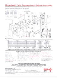 solartrac® system the brochure title mecho® 5 system MechoShade Dealers at Mechoshade Systems Wiring Diagram
