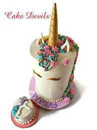 Fondant Unicorn Horn Cake Topper Unicorn Cake Kit Handmade Edible