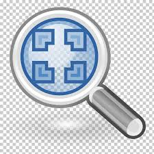 computer icons tango desktop project magnifying png clipart