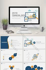 Powerpoint Financial Financial Data Analysis Report Report Ppt Template