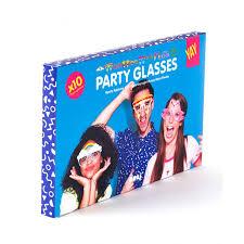 <b>Бумажные очки для вечеринок</b> crazy glasses Doiy FD-DYGLASSCR
