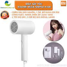 Máy sấy tóc bổ sung ion âm Xiaomi Mijia Simple H100 2 chế độ, 1600W - Bảo  hành 1 tháng - Shop Thế Giới Điện Máy Thế giới điện máy