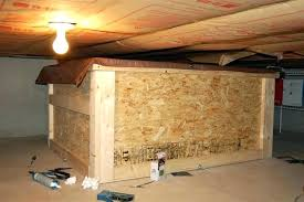 Crawl Space Storage Putting Tank Together In Converting  Attic Into23