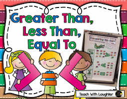 Teach With Laughter Greater Than Less Than Equal To