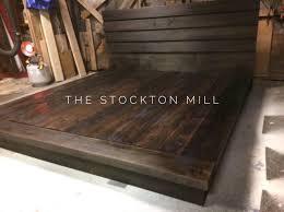 king bed frame wood. Hardwood Platform Bed, King Size Wood Bed Ruby Collection Frame