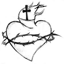 Awesome Heart Designs Awesome Sacred Heart Tattoo Design