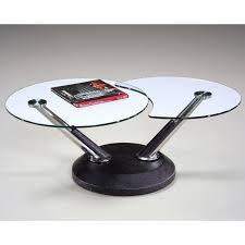 magnussen 38000 modesto metal and glass swivel coffee table com