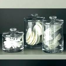 glass apothecary jars bathroom glass bathroom jars bathroom glass containers bathroom accessories apothecary jars umbra clear