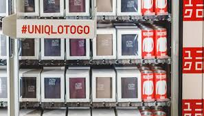 Uniqlo Vending Machine Extraordinary Japanese Retailer Uniqlo Has Opened Airport Vending Machines With