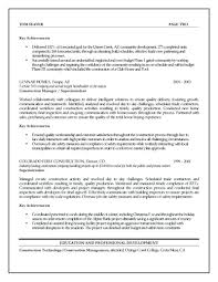 Project Management Resume Example resume Management Resume Example 39