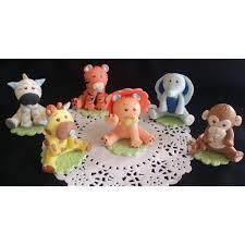 Cake Decorating Animal Figures Jungle Cake Toppers Jungle Centerpieces Toppers Jungle Baby
