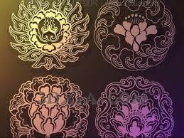 Small Picture Golden flower wallpaper wall stickers wallpaper decorativ