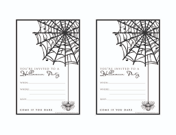free birthday invitation template for kids free halloween party invitation templates wrha us