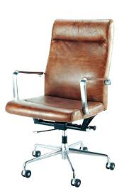 brown leather office chair. Tan Leather Office Chair Brown Amazon Medium Size Of Desk Chairs Wheels  Retro Eames Style Chai .
