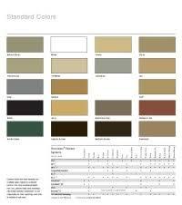 Sonneborn Color Chart Sonolastic Np2 Color Chart Sonneborn Np2 Color Chart