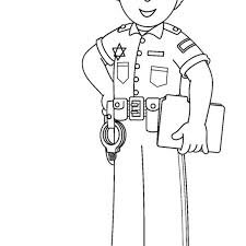 Printable Community Helper Coloring Pages For Kids ...
