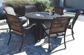 cast aluminum wicker furniture patio