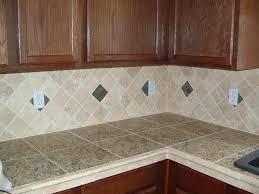 glass tile kitchen countertops