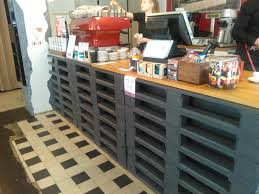 Bar Made Out Of Pallets Cowboys Cappuccinos Trendy Coffee Table Wooden Pallets