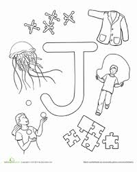 Give him this graffiti coloring page J Is For Worksheet Education Com