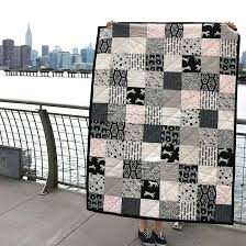 Super Easy Quilt Patterns Free Classy FREE Super Easy Black White Quilt Pattern Brooklyn Craft Company
