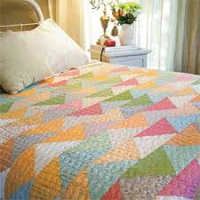 Your Dreams: Fast Triangle Bed Quilt Pattern & Follow Your Dreams: Fast Triangle Bed Quilt Pattern Adamdwight.com