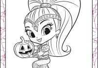 Shimmer And Shine Printable Coloring Pages Awesome Shimmer Shine