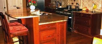 red quartz kitchen countertops by granite