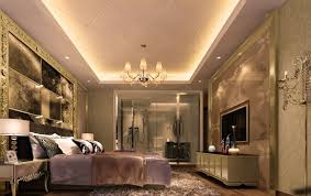 ornate bedroom furniture. Luxury Gypsum Board Ceiling With Purple Bed And Amazing Plastered Wall Ornate Bedroom Furniture Design