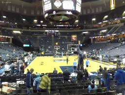 Reasonable Fedex Forum Seat View The Forum Seat View