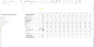 Personal Cash Flow Statement Template Excel Discounted Cash Flow Excel Personal Statement Income And