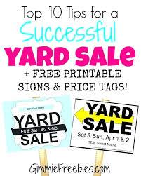 Yard Sale Sign Babygirlparty Info