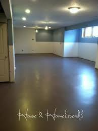painted basement floorsCrazy How To Finish Concrete Basement Floor A Modern Black Stained
