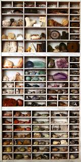 Fabulous way to display a rock collection. And I need a place. So many