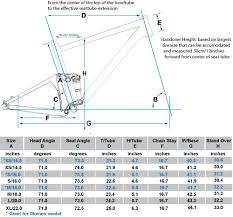 Mtb Geometry Chart Giant Mountain Bike Frame Sizing Chart Damnxgood Com
