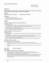 Accounting Resume Template Luxury 51 Inspirational Accountant Resume